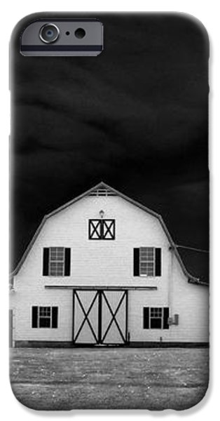 Barn storm iPhone Case by Julian Bralley