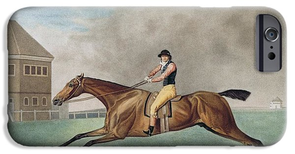 Horse Racing iPhone Cases - Baronet iPhone Case by George Stubbs