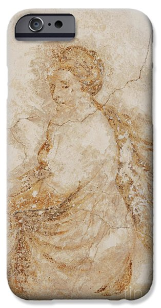 baroque mural painting iPhone Case by Michal Boubin
