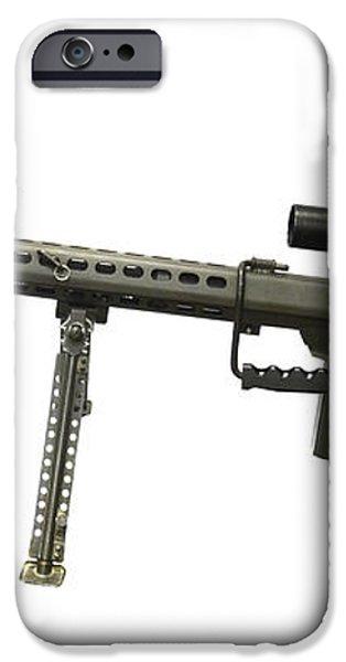 Barrett L82a1 Anti-materiel Rifle iPhone Case by Andrew Chittock