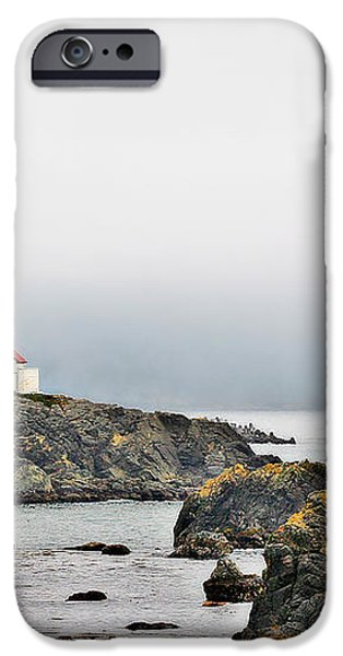 Battery Point Lighthouse California iPhone Case by Christine Till