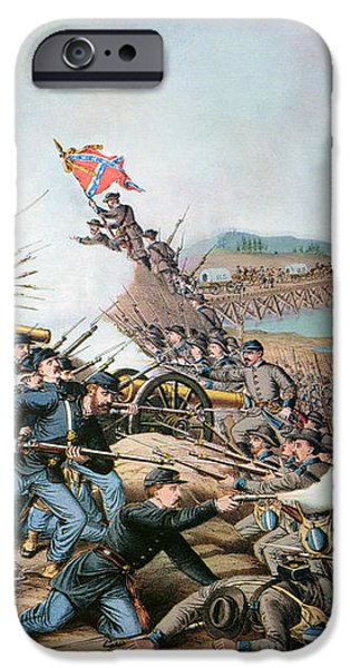 BATTLE OF FRANKLIN, 1864 iPhone Case by Granger