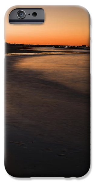 Beach At Sunset iPhone Case by Roberto Westbrook