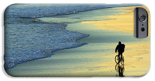 Enjoying iPhone Cases - Beach Biker iPhone Case by Carlos Caetano