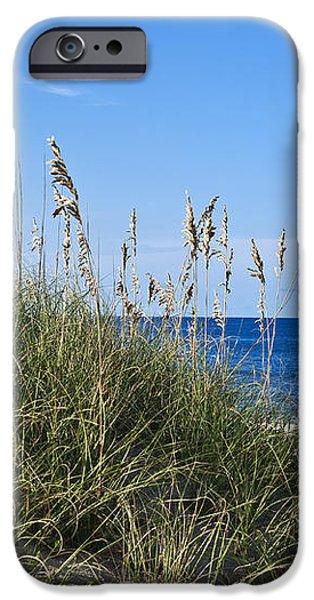 Beach dunes. iPhone Case by John Greim
