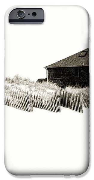 Beach House - Jersey Shore iPhone Case by Angie Tirado