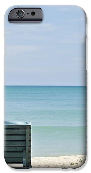 Beach Life iPhone Case by Georgia Fowler