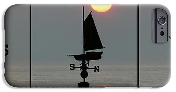Sailboat Ocean iPhone Cases - Beach Weather iPhone Case by Bill Cannon