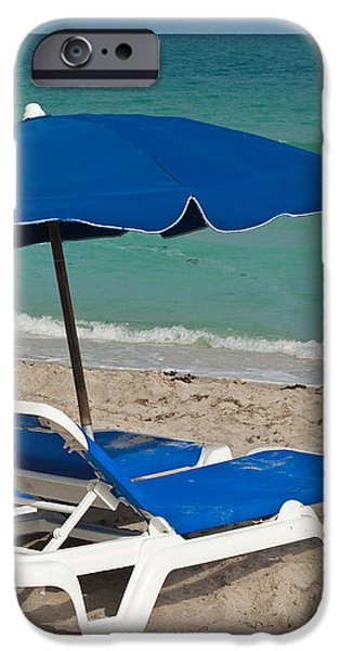 Beachtime iPhone Case by Barbara McMahon