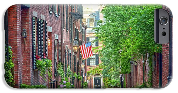 Cable iPhone Cases - Beacon Hill iPhone Case by Susan Cole Kelly