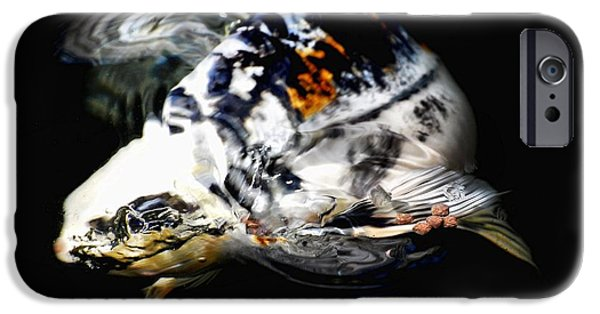 Butterfly Koi Photographs iPhone Cases - Beautiful baby iPhone Case by Don Mann
