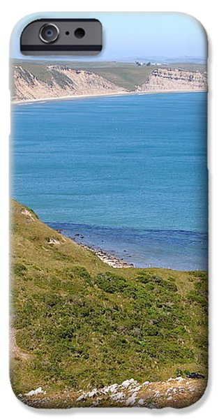 Beautiful Coastline of Point Reyes California . 7D16050 iPhone Case by Wingsdomain Art and Photography