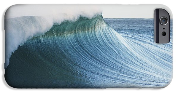 Vince iPhone Cases - Beautiful Wave Breaking iPhone Case by Vince Cavataio - Printscapes