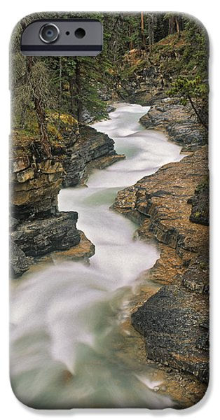 Beauty Creek, Banff National Park iPhone Case by Darwin Wiggett
