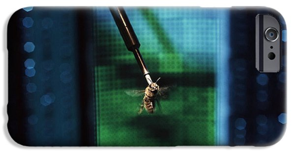 Virtual iPhone Cases - Bee Flight Simulator iPhone Case by Volker Steger