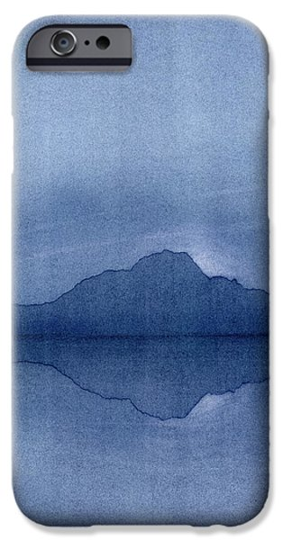 Moon Pastels iPhone Cases - Before the Moonrise iPhone Case by Hakon Soreide