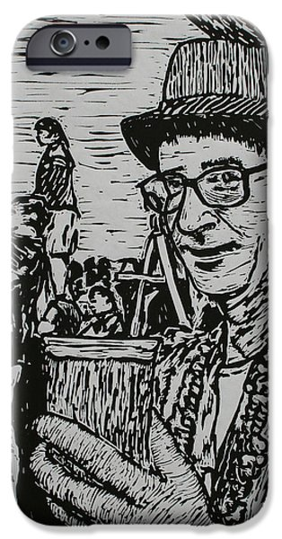 Behind the Parade iPhone Case by William Cauthern