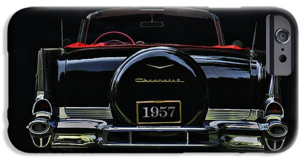 Classic Digital Art iPhone Cases - Bel Air Nights iPhone Case by Douglas Pittman