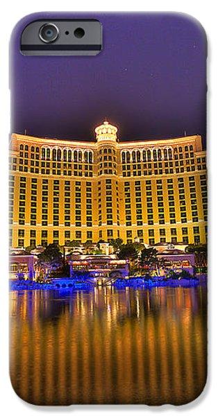Belagio Las Vegas iPhone Case by Nicholas  Grunas