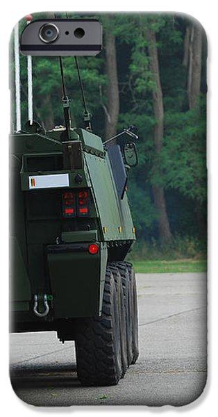 Belgian Infantry Soldiers Walk iPhone Case by Luc De Jaeger