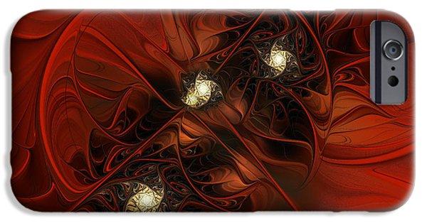 Asymmetrical iPhone Cases - Beloved Immortal iPhone Case by Georgiana Romanovna