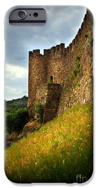 Belver Castle iPhone Case by Carlos Caetano
