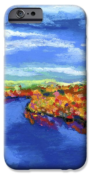 Bend in the River iPhone Case by Stephen Anderson