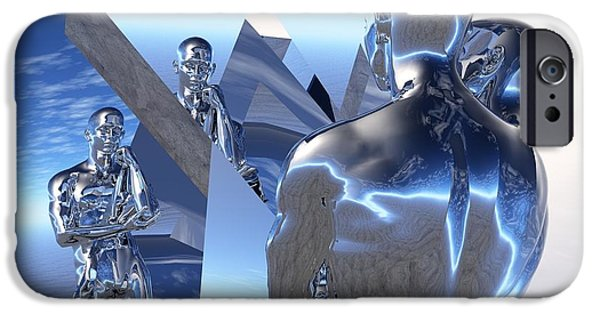 Best Sellers -  - Virtual iPhone Cases - Bending Reality To His Will iPhone Case by Jon D Gemma