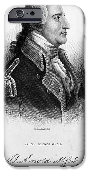 Benedict Arnold, American Traitor iPhone Case by Omikron