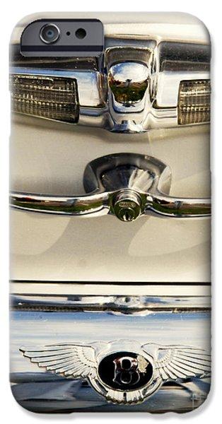 Automotive iPhone Cases - Bentley Details iPhone Case by Susanne Van Hulst
