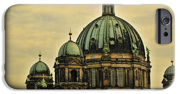 Berlin Germany iPhone Cases - Berlin Architecture iPhone Case by Jon Berghoff