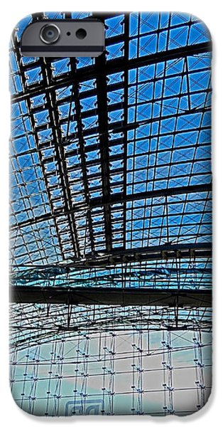 Berlin Central Station ...  iPhone Case by Juergen Weiss