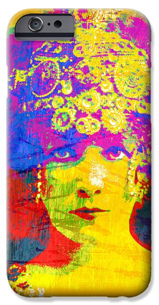 Warhol iPhone Cases - Bernhardt iPhone Case by Gary Grayson