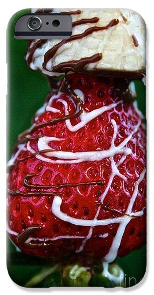 Berry Banana Kabob iPhone Case by Susan Herber