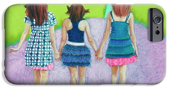 Women Together iPhone Cases - Best Friends iPhone Case by Tracy L Teeter