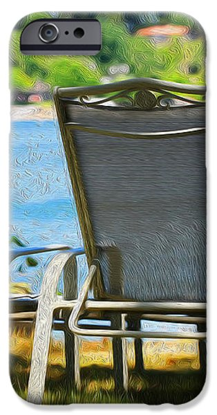Best seats on the Island iPhone Case by Cheryl Young
