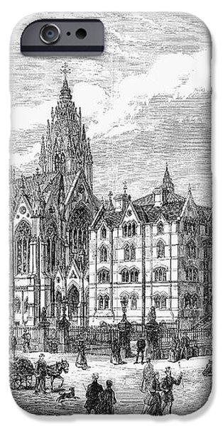 BETHNAL GREEN MARKET, 1869 iPhone Case by Granger