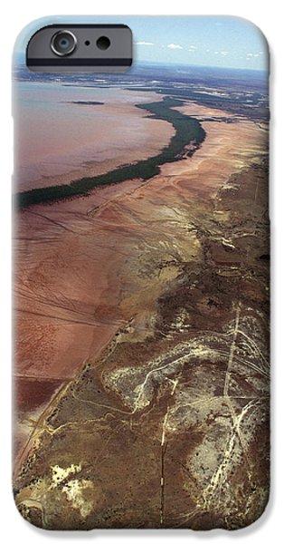 River View iPhone Cases - Betsiboka Estuary, Madagascar iPhone Case by Alexis Rosenfeld