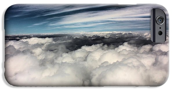 Storm iPhone Cases - Between Heaven and a Soft Place iPhone Case by Kristin Elmquist