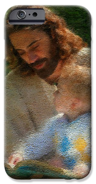 Bible Stories iPhone Case by Greg Olsen