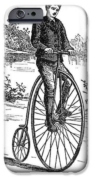 BICYCLE, c1870s iPhone Case by Granger