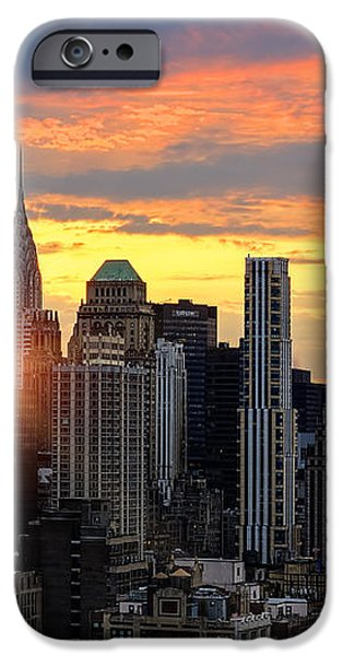 Big Apple Brilliance iPhone Case by Janet Fikar