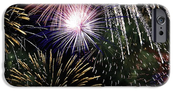 Fourth Of July iPhone Cases - Big Bang Fireworks iPhone Case by Sherry  Curry