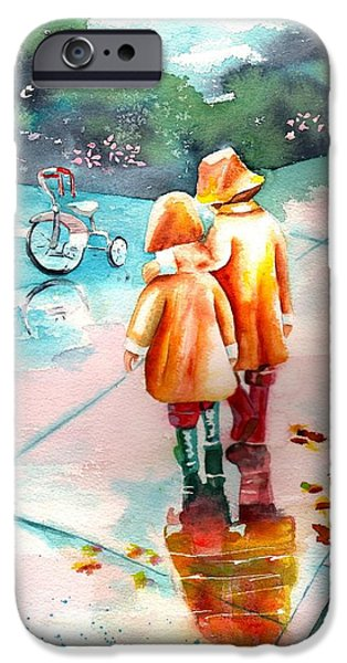 Rainy Day iPhone Cases - Big Brother iPhone Case by Sharon Mick