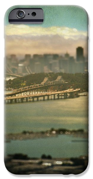 Bay Bridge iPhone Cases - Big City Dreams iPhone Case by Laurie Search