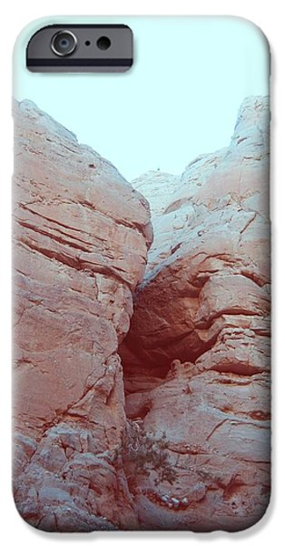 Field. Cloud iPhone Cases - Big Rocks iPhone Case by Naxart Studio