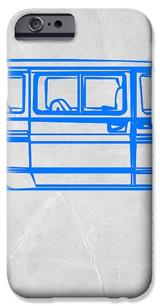 Big Van iPhone Case by Naxart Studio