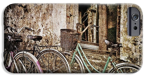 Useful iPhone Cases - Bikes and a Window iPhone Case by Skip Nall
