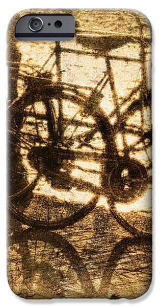 Bikes On The Canal iPhone Case by Skip Nall