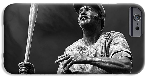 Wrigley iPhone Cases - Billy Williams - H O F iPhone Case by David Bearden